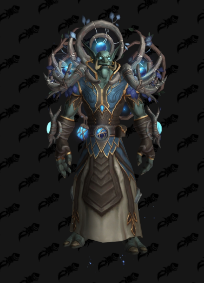 Night Fae Covenant Transmog sets