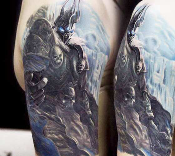 Lich King Tattoo